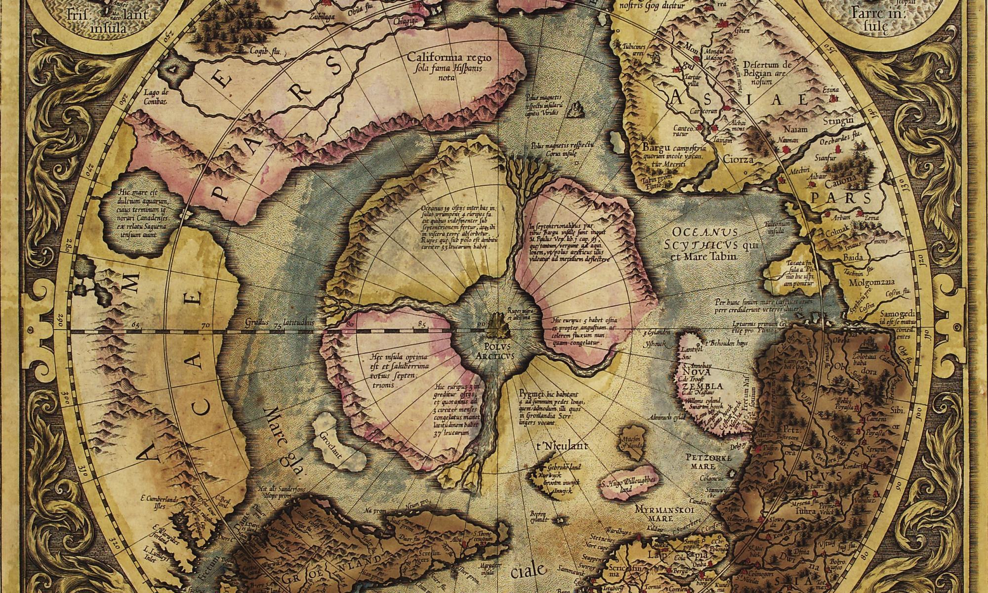 Nordpolkarte 1606